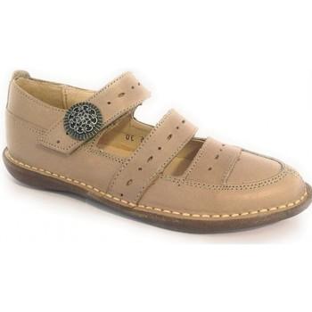 Obuća Djevojčica Derby cipele & Oksfordice Colores 23892-24 Bež
