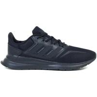 Obuća Djeca Running/Trail adidas Originals Runfalcon K Crna