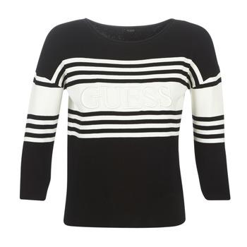 Odjeća Žene  Puloveri Guess VIOLANTE Crna / Bijela