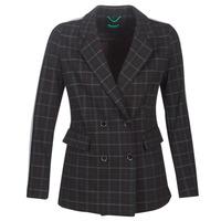 Odjeća Žene  Kaputi Benetton SUDIDEL Crna