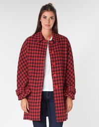 Odjeća Žene  Kaputi Benetton SIDUDEL Smeđa / Multicolour
