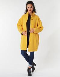 Odjeća Žene  Kaputi Benetton STORI Žuta