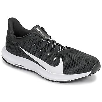 Obuća Muškarci  Running/Trail Nike QUEST 2 Crna / Bijela