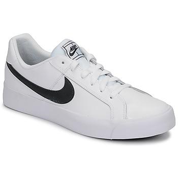 Obuća Muškarci  Niske tenisice Nike COURT ROYALE AC Bijela / Crna