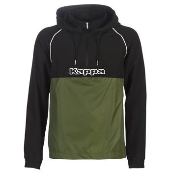 Odjeća Muškarci  Vjetrovke Kappa RISANO Crna / Kaki