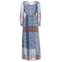Odjeća Žene  Duge haljine Cream SAMA Blue / Smeđa
