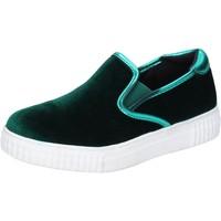 Obuća Žene  Slip-on cipele Francescomilano Cipele Tenisice BR31 Zelena