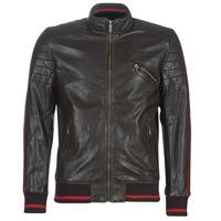 Odjeća Muškarci  Kožne i sintetičke jakne Desigual ANTON Smeđa