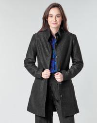 Odjeća Žene  Kaputi Desigual SIMONE Crna