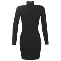 Odjeća Žene  Kratke haljine Morgan RMENTO Crna