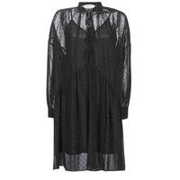 Odjeća Žene  Kratke haljine Replay W9525-000-83494-098 Crna