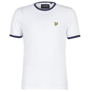 Odjeća Muškarci  Majice kratkih rukava Lyle & Scott TS705V-Z660 Bijela