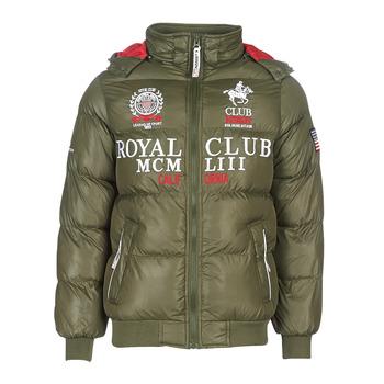 Odjeća Muškarci  Pernate jakne Geographical Norway AVALANCHE-KAKI Kaki