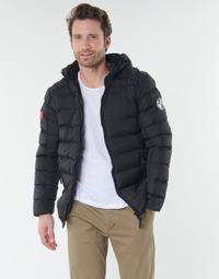 Odjeća Muškarci  Pernate jakne Geographical Norway BALANCE-NOIR Crna