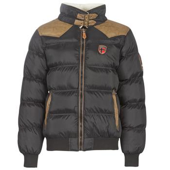 Odjeća Muškarci  Pernate jakne Geographical Norway ABRAMOVITCH-NOIR Crna