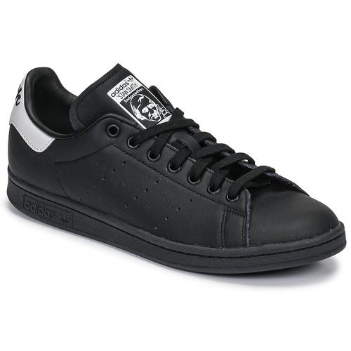 Obuća Niske tenisice adidas Originals STAN SMITH Crna / Bijela