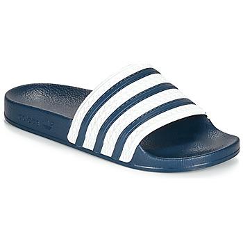 Obuća Sportske natikače adidas Originals ADILETTE Blue / Bijela