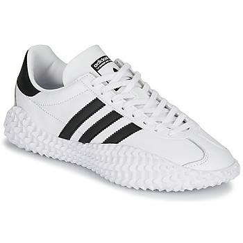 Obuća Muškarci  Niske tenisice adidas Originals COUNTRYXKAMANDA Bijela / Crna