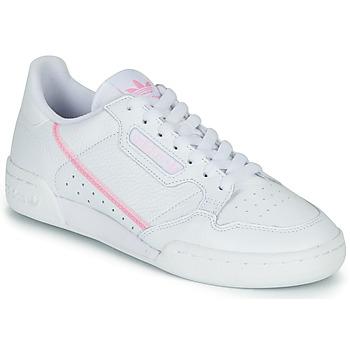 Obuća Žene  Niske tenisice adidas Originals CONTINENTAL 80 W Bijela / Ružičasta