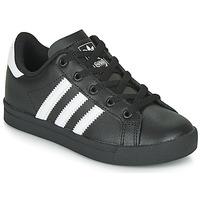 Obuća Djeca Niske tenisice adidas Originals COAST STAR C Crna / Bijela