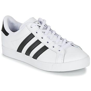 Obuća Djeca Niske tenisice adidas Originals COAST STAR J Bijela / Crna