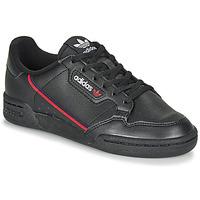 Obuća Djeca Niske tenisice adidas Originals CONTINENTAL 80 J Crna