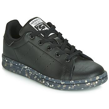 Obuća Djeca Niske tenisice adidas Originals STAN SMITH C Crna