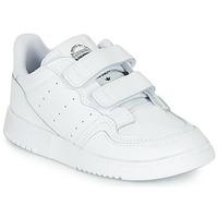 Obuća Djeca Niske tenisice adidas Originals SUPERCOURT CF I Bijela