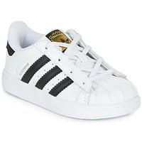 Obuća Djeca Niske tenisice adidas Originals SUPERSTAR I Bijela / Crna