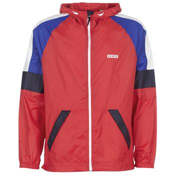 Odjeća Muškarci  Vjetrovke Levi's COLORBLOCK WINDRUNNER Red / Blue