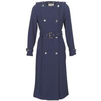 Odjeća Žene  Baloneri MICHAEL Michael Kors COLLARLESS TRENCH Blue