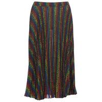 Odjeća Žene  Suknje MICHAEL Michael Kors MULTI LOGO PLEAT SKRT Multicolour
