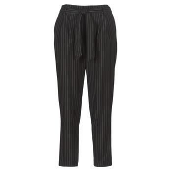 Odjeća Žene  Hlače s pet džepova Betty London LAALIA Crna / Bijela