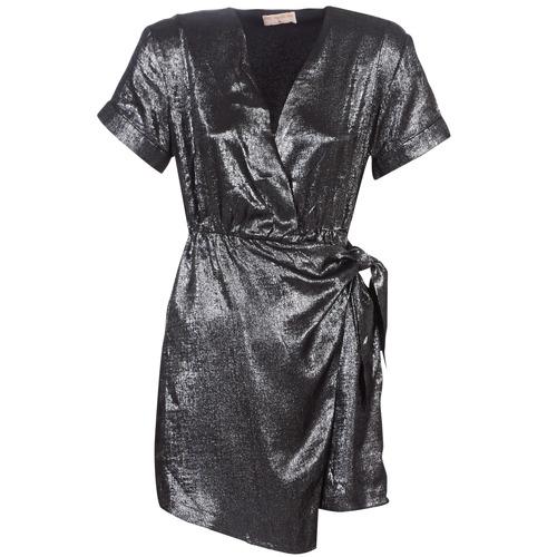 Odjeća Žene  Kratke haljine Moony Mood LIVINE Srebrna