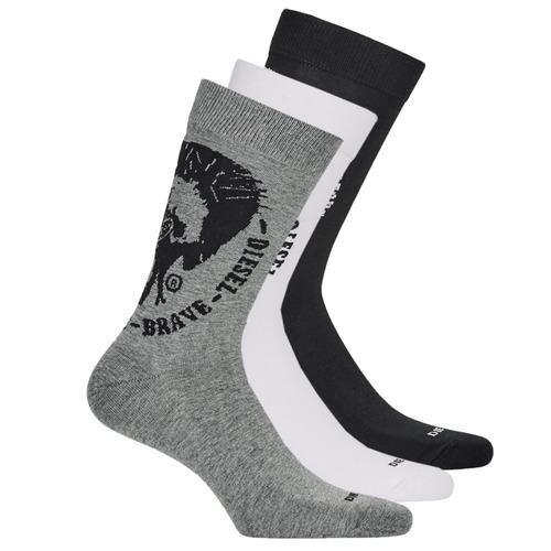 Modni dodaci Muškarci  Čarape Diesel  Crna / Siva / Bijela
