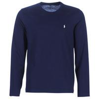 Odjeća Muškarci  Majice dugih rukava Polo Ralph Lauren L/S CREW-CREW-SLEEP TOP Blue