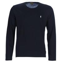 Odjeća Muškarci  Majice dugih rukava Polo Ralph Lauren L/S CREW-CREW-SLEEP TOP Crna