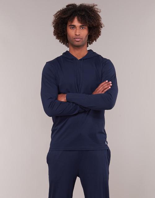 Odjeća Muškarci  Sportske majice Ralph Lauren L/S HOODIE-HOODIE-SLEEP TOP Blue