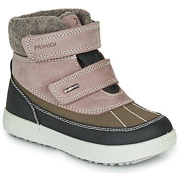 Obuća Djevojčica Čizme za snijeg Primigi PEPYS GORE-TEX Old / Ružičasta / Smeđa