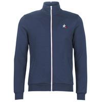 Odjeća Muškarci  Gornji dijelovi trenirke Le Coq Sportif ESS FZ SWEAT N°2 M Blue