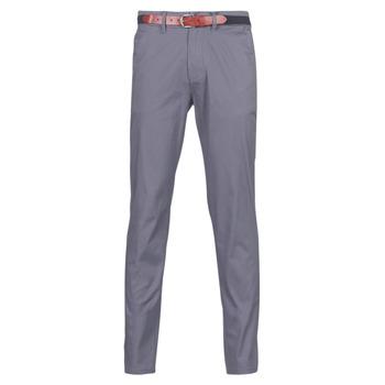 Odjeća Muškarci  Chino hlačei hlače mrkva kroja Selected SLHSLIM Siva