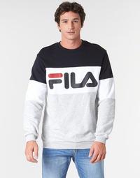 Odjeća Muškarci  Sportske majice Fila STRAIGHT BLOCKED CREW Siva / Crna