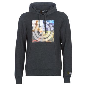 Odjeća Muškarci  Sportske majice Element QUADRANT SEASONS HOOD Siva