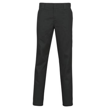 Odjeća Muškarci  Hlače s pet džepova Dickies SLIM FIT WORK PNT Crna