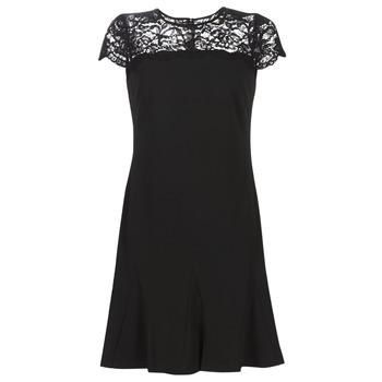 Odjeća Žene  Kratke haljine Lauren Ralph Lauren CALLY Crna