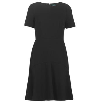 Odjeća Žene  Kratke haljine Lauren Ralph Lauren BABA Crna