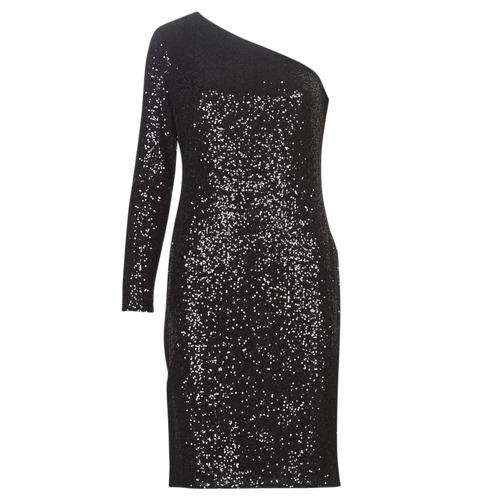 Odjeća Žene  Kratke haljine Lauren Ralph Lauren MARRI Crna