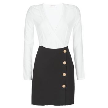 Odjeća Žene  Kratke haljine Moony Mood LUCE Crna / Bijela