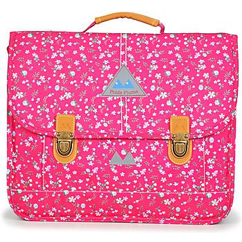 Torbe Djevojčica Školske torbe Poids Plume FLEURY CARTABLE 38 CM Ružičasta