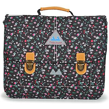 Torbe Djevojčica Školske torbe Poids Plume FLEURY CARTABLE 38 CM Crna
